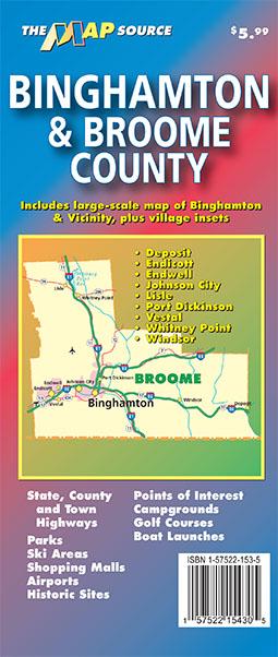 Binghamton & e County, New York on