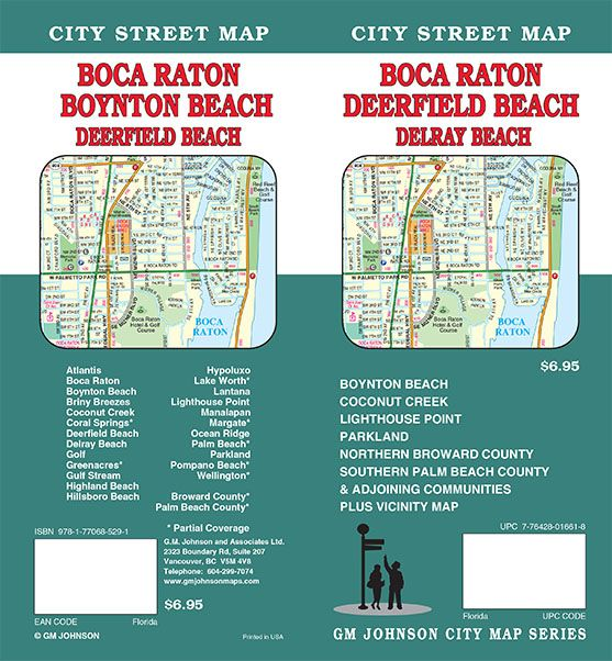 Delray Beach Florida Map.Florida Maps Catalogue Gm Johnson Maps