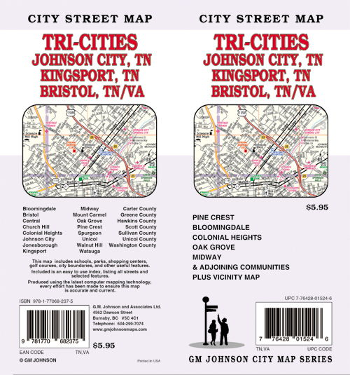Bristol Johnson City Kingsport TriCities Tennessee Street