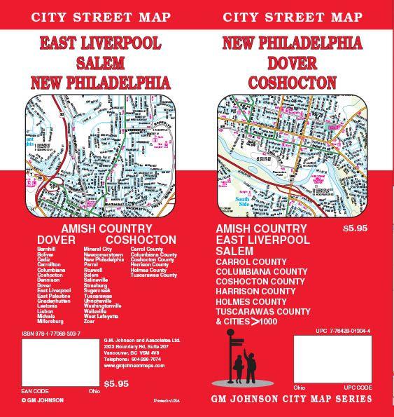 Newcomerstown Ohio Map.Dover New Philadelphia East Liverpool Coshocton Ohio Street