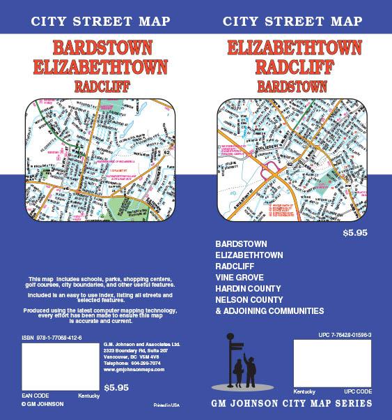 Radcliff Kentucky Map Radcliff Kentucky Street