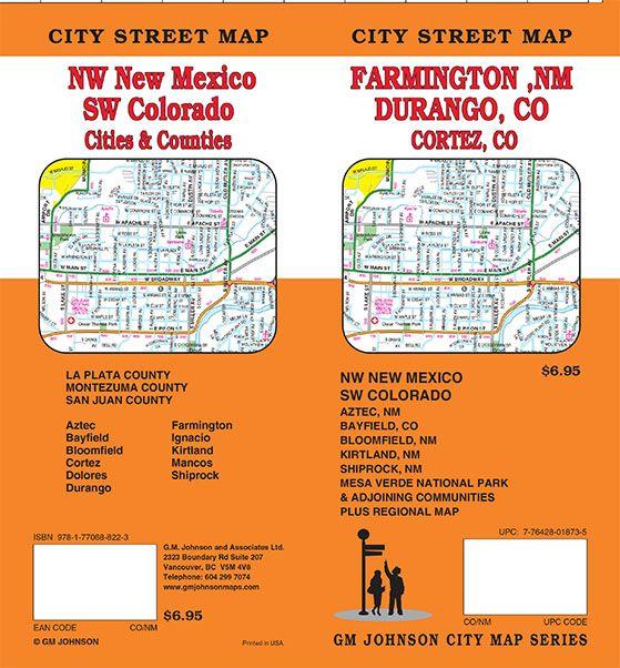 New Mexico Maps Catalogue Gm Johnson Maps