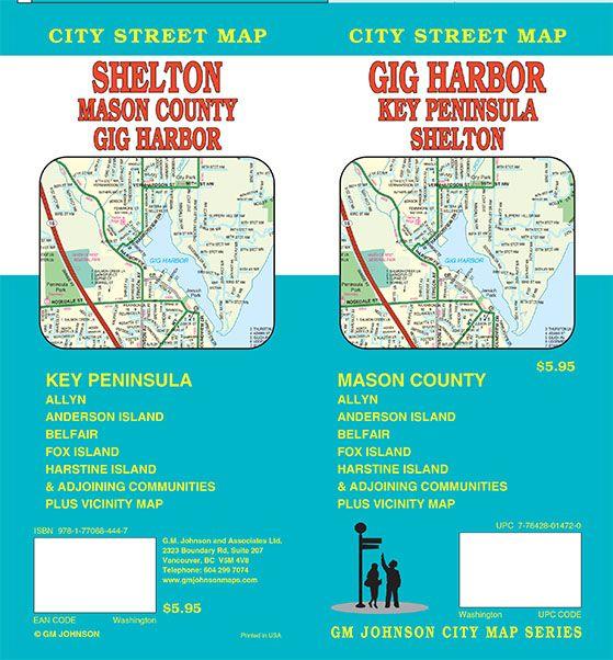 Bc Washington Map.Gig Harbor Key Peninsula Shelton Mason County Washington