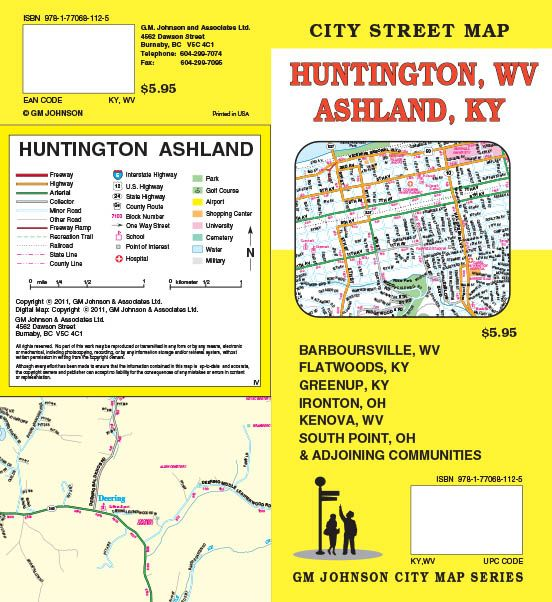 West Virginia Maps Catalogue GM Johnson Maps