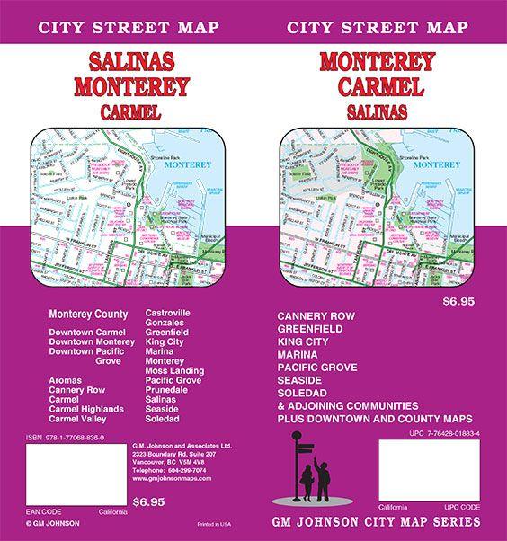 Carmel California Map on