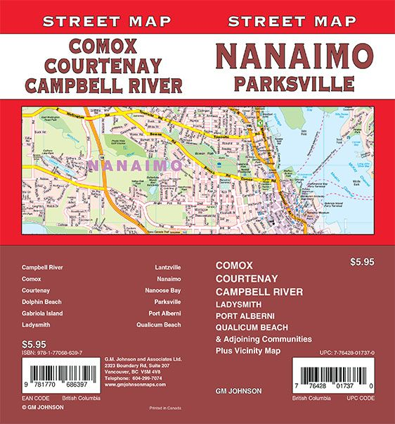 Nanaimo / Parksville / Comox / Courtenay / Campbell River, British on