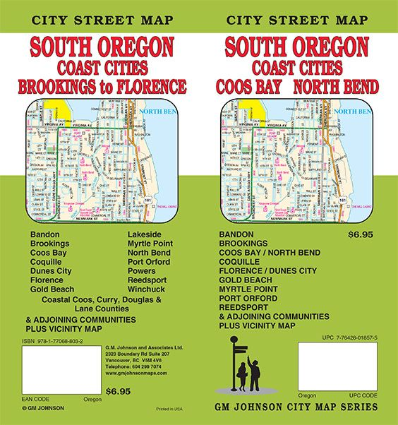 Oregon Maps Catalogue Gm Johnson Maps