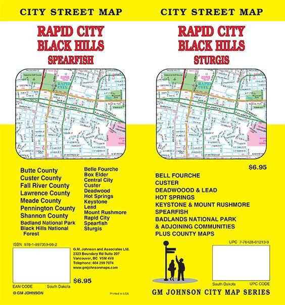 Rapid City / Black Hills / Sturgis / Badlands Natl Park, South ...