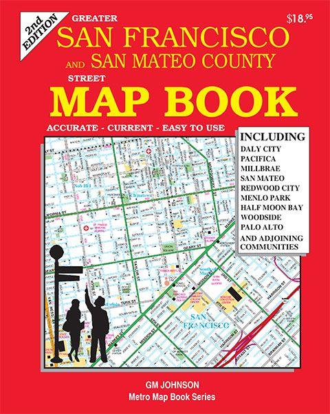 San Francisco & San Mateo Counties, California Street MapBook