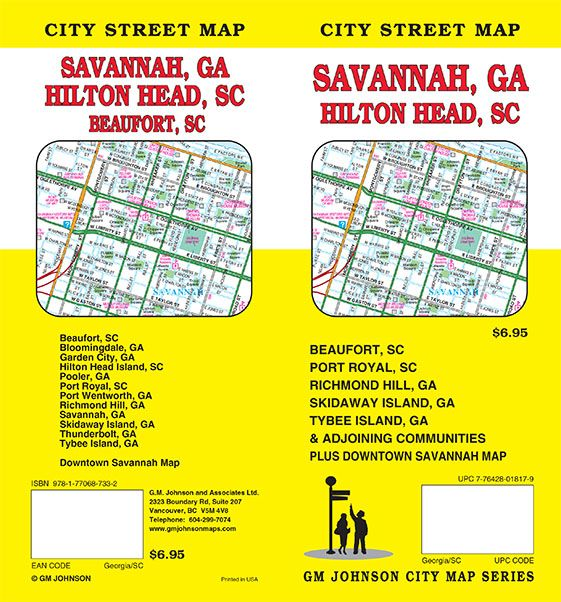 Map Of Georgia On 95.Savannah Georgia Hilton Head Sc Beaufort Sc