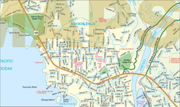 Large Print Maps at GM Johnson GM Johnson Maps