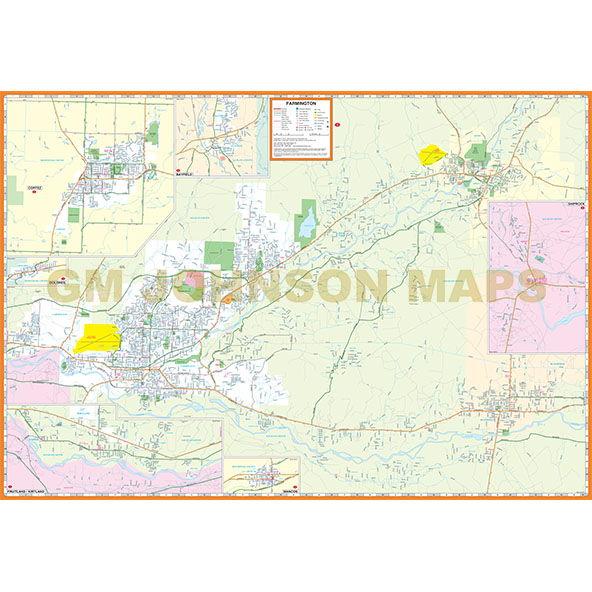 fine farmington new mexico map 10