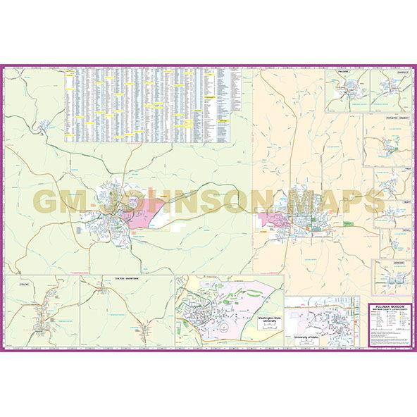 Lewiston Map