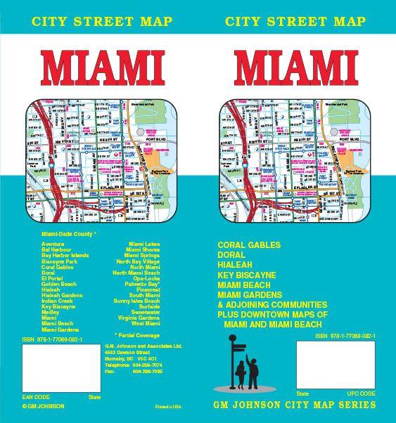 Miami Florida Street Map