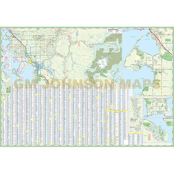 Map Of Whatcom County on