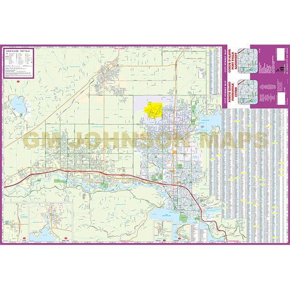 Coeur D Alene Post Falls Sandpoint Idaho Panhandle Cities