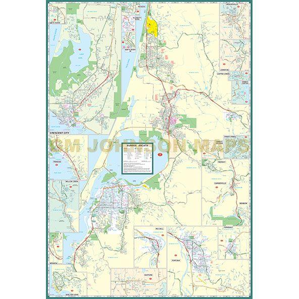 Eureka Arcata Crescent City Redwood Coast Trinity County