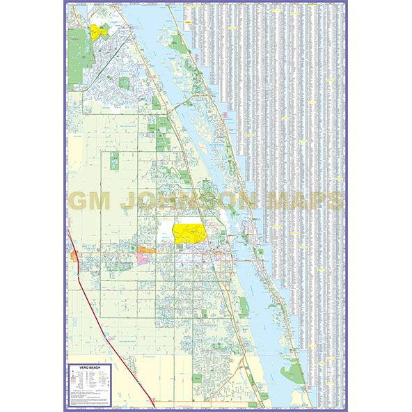 Map Of Sebastian Florida.Fort Pierce Port St Lucie Vero Beach Sebastian Florida Street