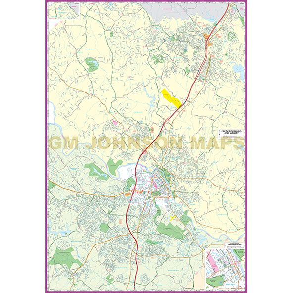 Fredericksburgspotsylvania stafford king george caroline click on image below to view zoom map sciox Image collections