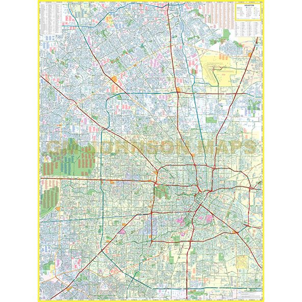 Houston, Texas Street Map - GM Johnson Maps on houston zip code map, city of conroe tx map, texas interactive radar weather map, houston metro bus map, houston neighborhood map, houston streetcar district map, houston city road map, katy tx map, houston texas map, kingwood texas map, prairie view tx map,
