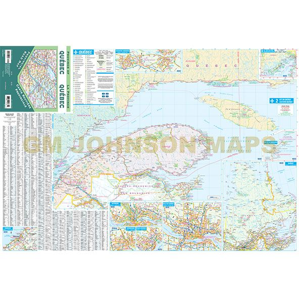 Quebec provincial map quebec province map gm johnson maps click on image below to view zoom map gumiabroncs Image collections