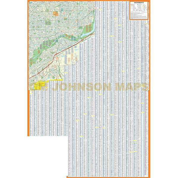 sacramento street map rand mcnally