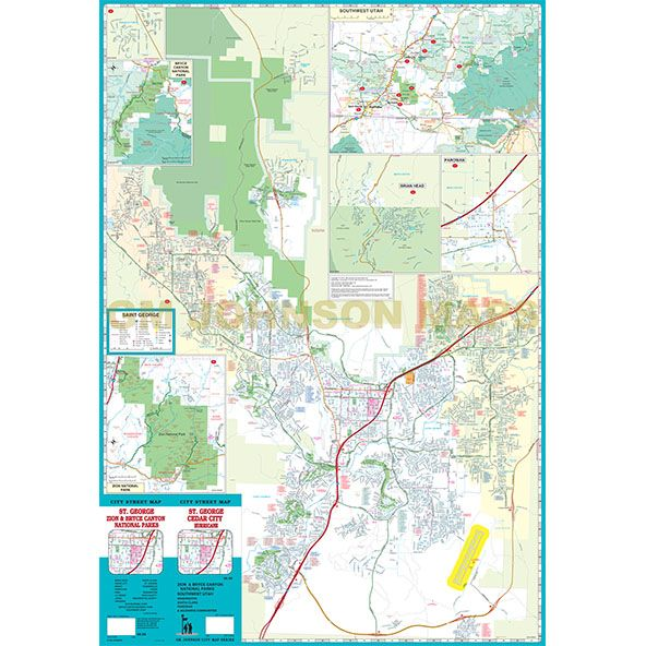 St George Cedar City Hurricane Zion Bryce Canyon Utah